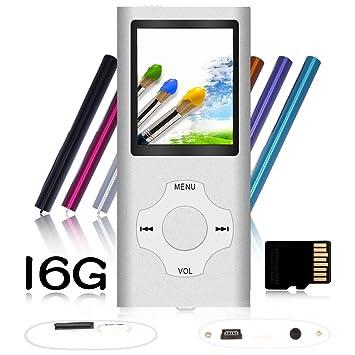 Amazon.com: Tomameri - Reproductor MP3 / MP4 digital y ...