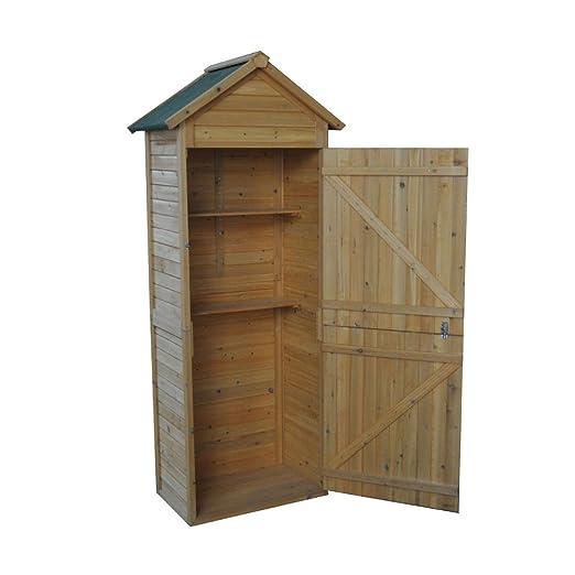 Gerätehaus Geräteschuppen Geräteschrank Holz: Amazon.de: Garten