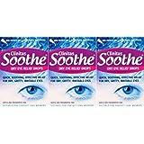 Clinitas Soothe Dry Eye Relief Drops 0.5ml Vials 20 Drops x 3 Packs