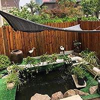 LKLXJ Negra Tela de Sombra del/Rectángulo Sombras de la terraza Sombras/Tamaño Completo Jardín pérgola / 80% Neto Paño de la Sombra Negra,Adecuado para terrazas Jardines: Amazon.es: Hogar
