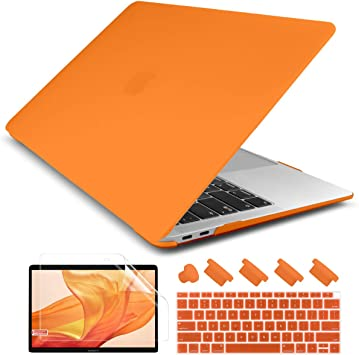 13Inch Case Smooth Matte Frosted Hard Cover for Macbook Air Pro A1932 A1708