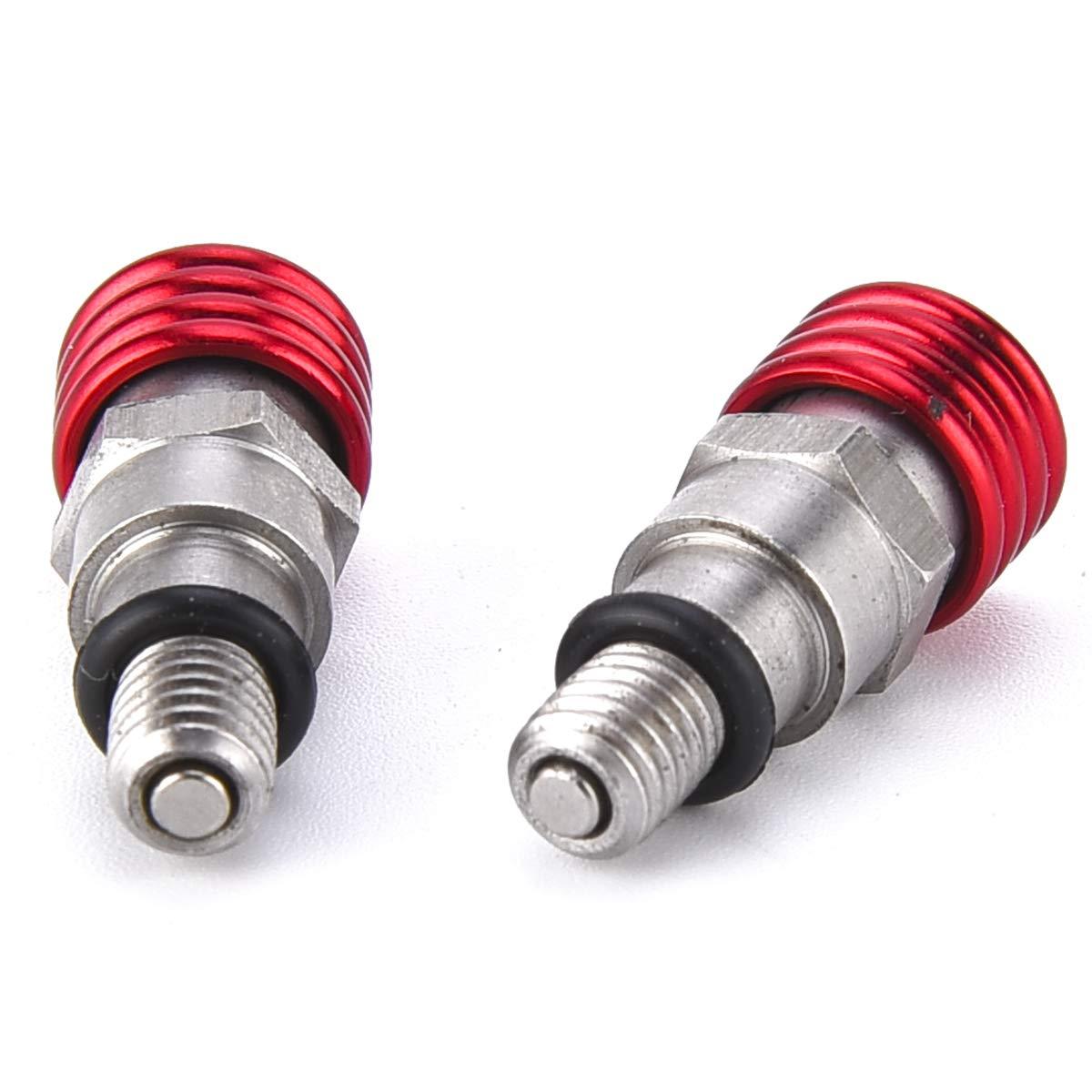 Pro Caken M5/0.8/mm CNC Fourche /à air Purgeur de valve de surpression pour Rmz250/Rmz450/Crf250/CRF 450/Cr125/Cr250