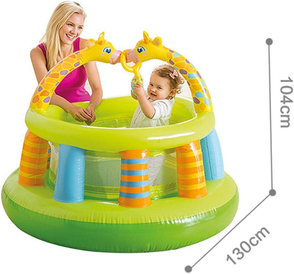 Cama elástica para niños saltos, castillo ventilado, casas de ...