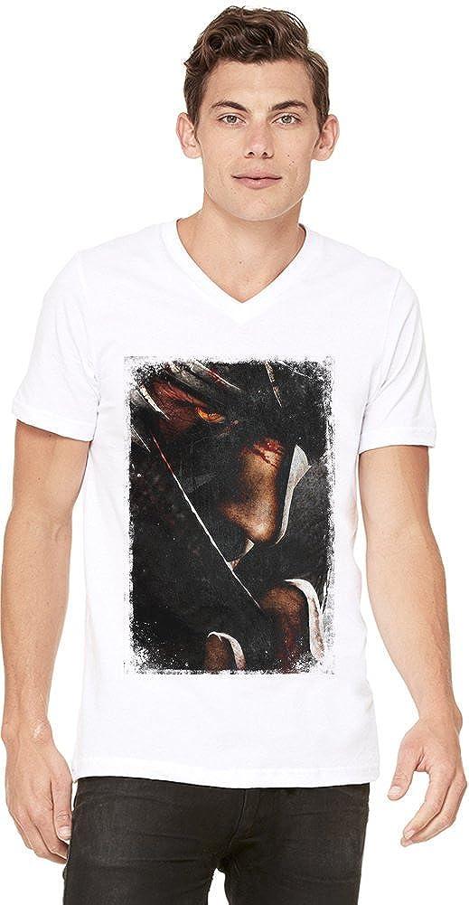 Ninja Gaiden II Ryu Face Camiseta con cuello en V de los ...