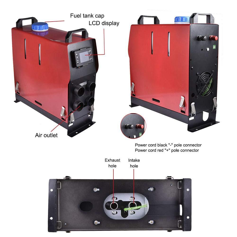 Rvest Riscaldatore Diesel ad Aria riscaldatore dellautomobile di parcheggio 12V24V per Controllo dellinterruttore del Bus del Camion della Barca dellautomobile