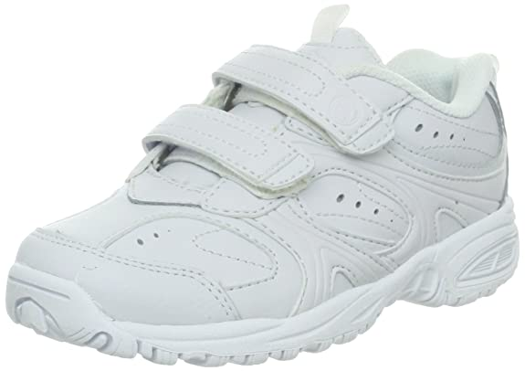 Stride Rite Cooper Hook & Loop Sneaker (Toddler/Little Kid/Big Kid),White,10.5 XW US Little Kid