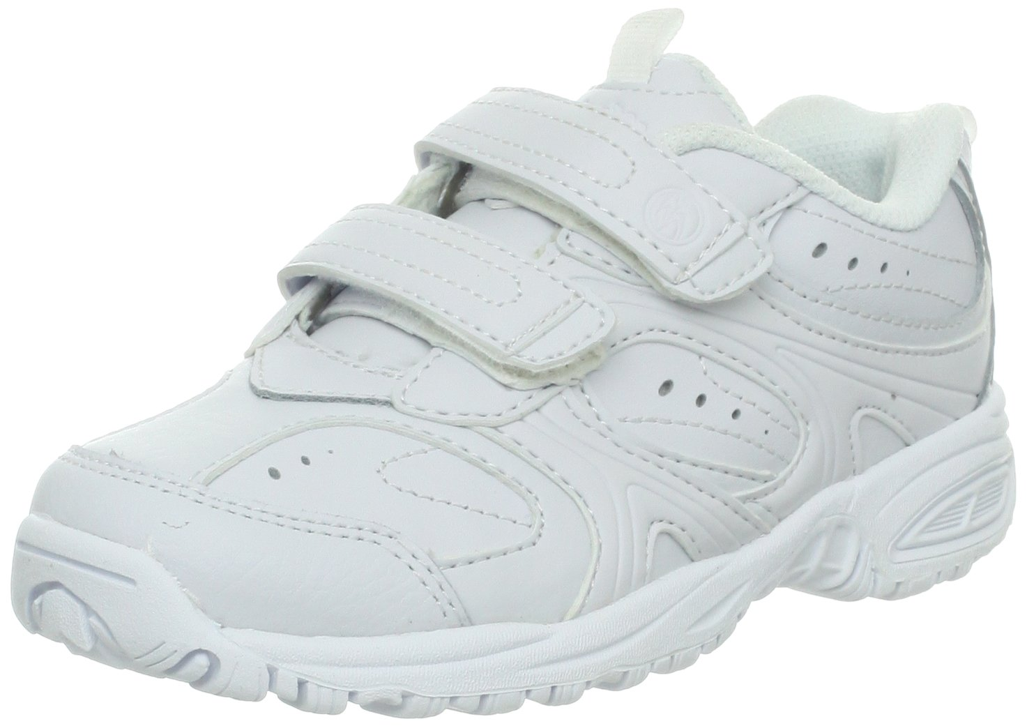 Stride Rite Cooper Hook & Loop Sneaker (Toddler/Little Kid/Big Kid),White,11 M US Little Kid