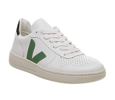 VEJA Herren Sneaker V10 Weiss (10) 40: : Schuhe