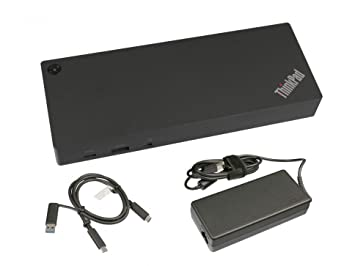 Lenovo USB-C/USB 3.0 Replicador de Puertos INKL. Cargador ...