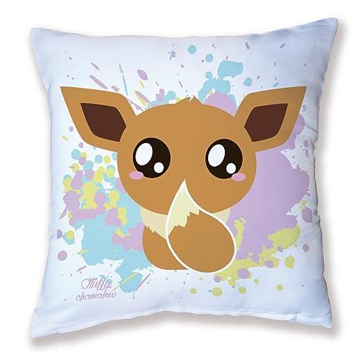 Cojín Decoración Pokemon Evoli Chibi, Kawaii y pastel by ...