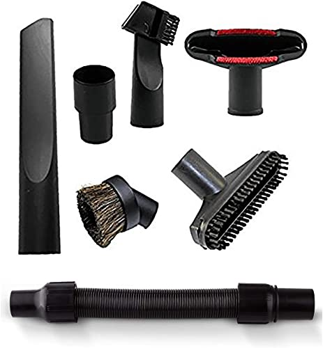 Common attachments for vacuum cleaners