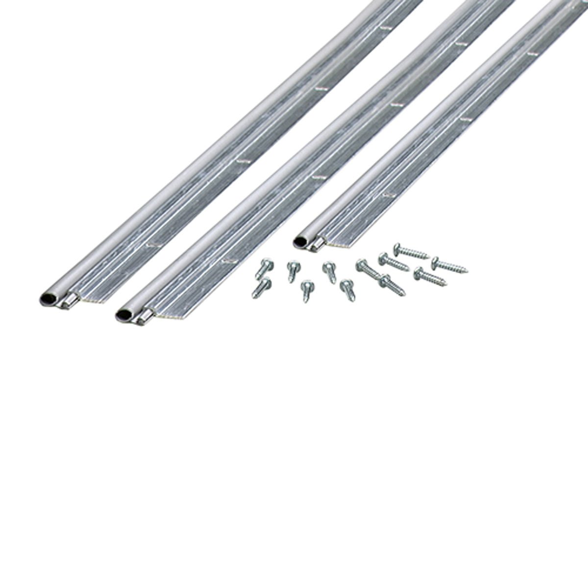 M-D Building Products 01438 36-Inch by 84-Inch Flat Profile Door Jamb Weather-strip Kit with Screws