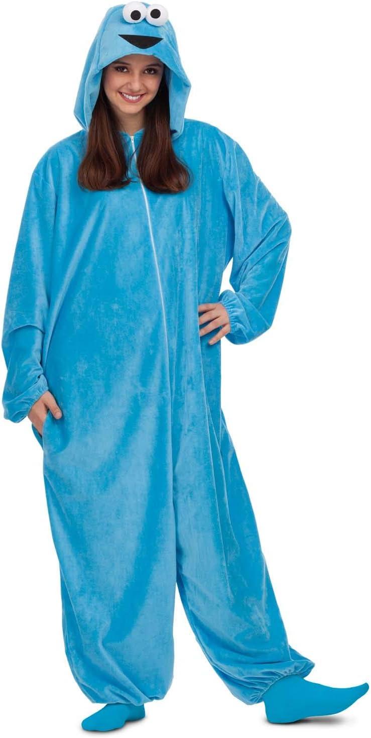 Barrio Sésamo Disfraz Pijama de Monstruo de Las Galletas para ...