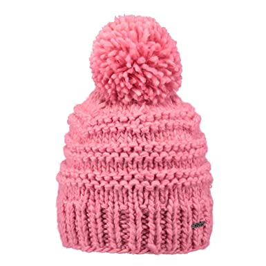Barts Hats Jasmin Bobble Hat - Hot Pink 1-Size  Amazon.co.uk  Clothing dad2e575784