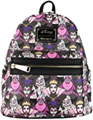 Loungefly Disney Villains Mini Faux Leather Backpack