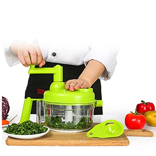 Compra ZHAO YELONG Manual Hand Pull Food Chopper Gran Capacidad ...
