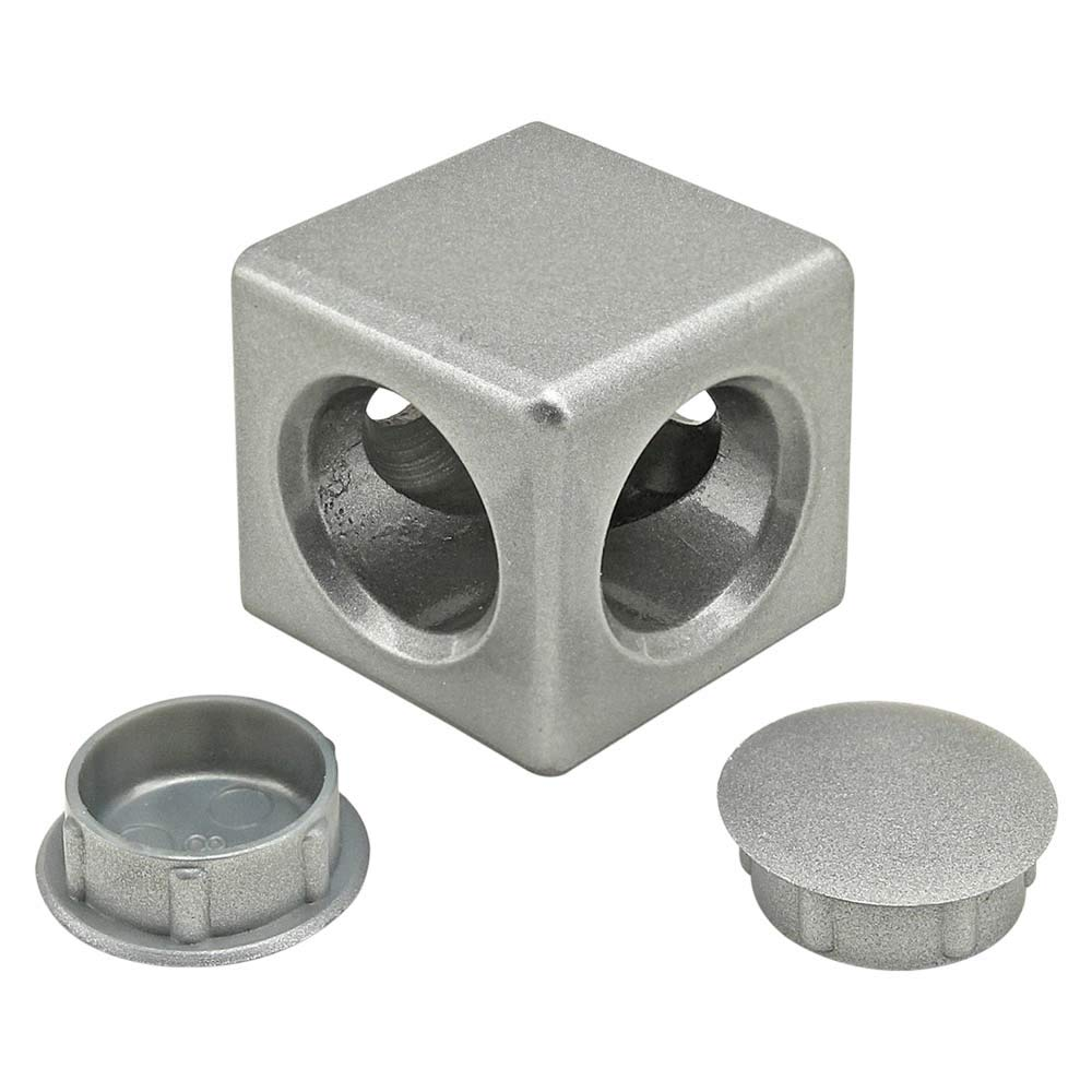 14170 30 Series 2 Way Light Squared Corner Connector 10 Pack