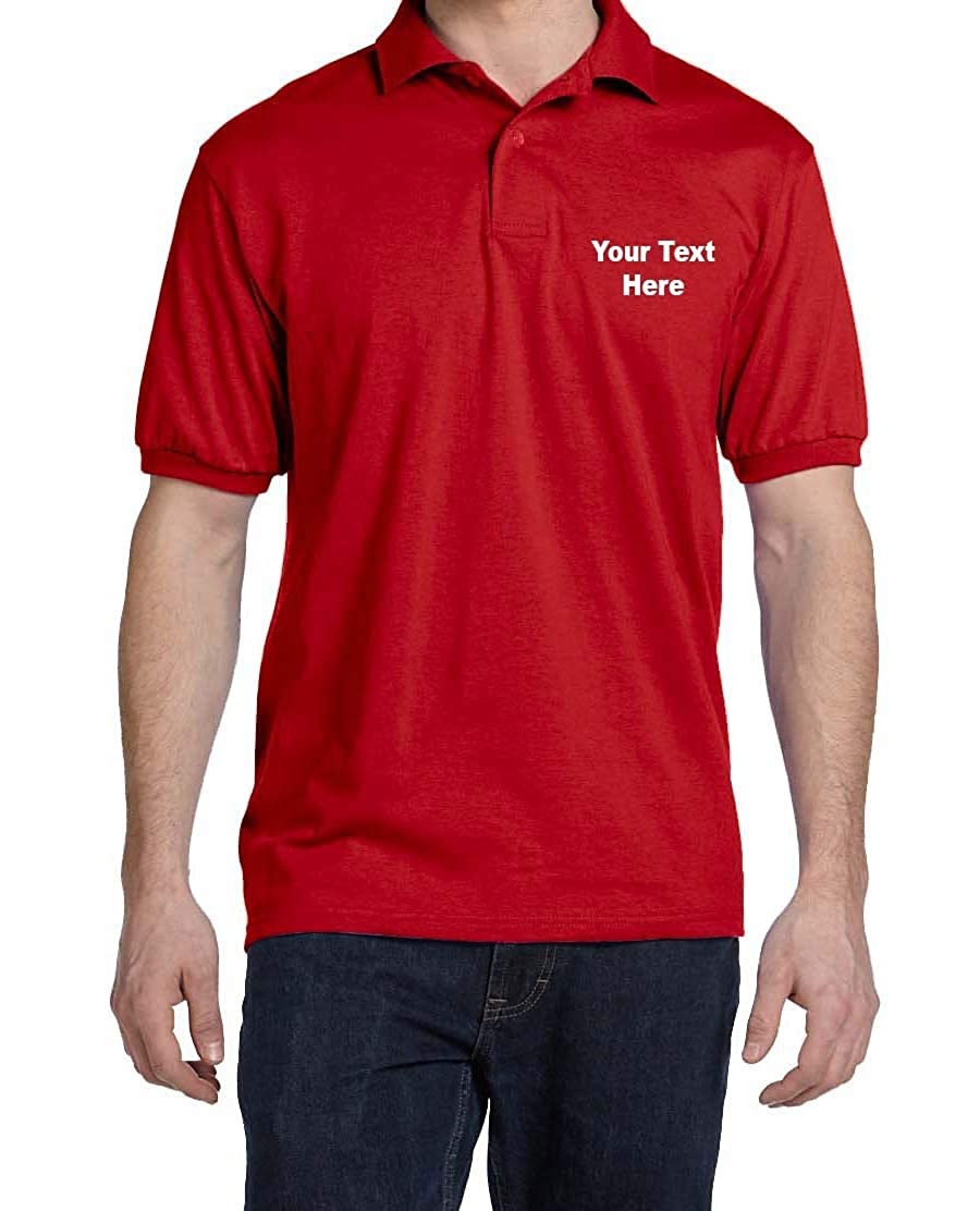 Custom Embroidery Polo Personalized Business Professional