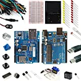 arduino motor shield kit - Vilros Uno Ultimate + Ethernet Starter Kit -- Includes 72 Page Instruction Book