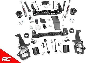 Kit de elevación de 15,24 cm con amortiguadores N3 Premium para 12 – 18 Dodge RAM 1500 4WD – 33230