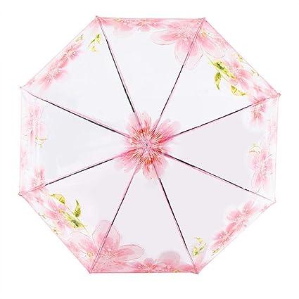 Paraguas Plegable Transparente, Paraguas Fresco Paraguas ...