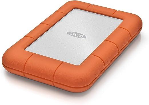 Amazon.com: Mini disco disco duro portátil LaCie Rugged USB 3.0, Anaranjado: Computers & Accessories