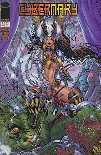 Cybernary #1 VF/NM ; Image comic book