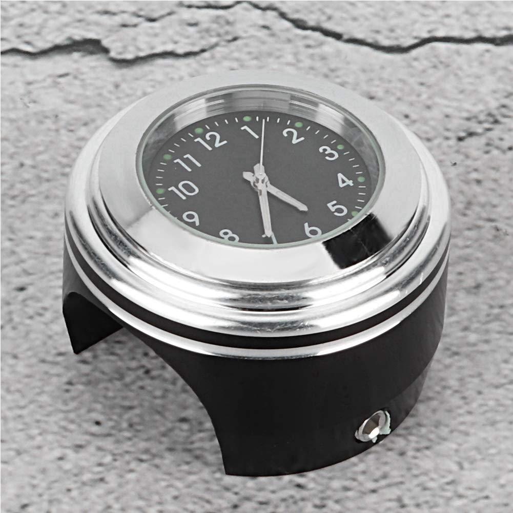 #1 Fixation de guidon de moto Montre /à quartz /étanche Montre Modification Accessoires