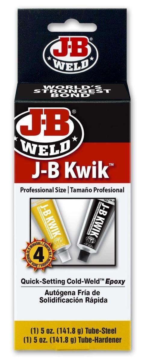 J-B Weld 8270 8 Pack 10 oz. KwikWeld Professional Size, Dark Grey