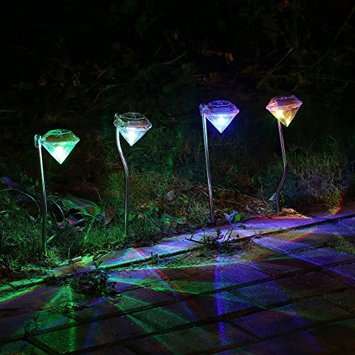 Solar Pathway Color Changing Led Lights