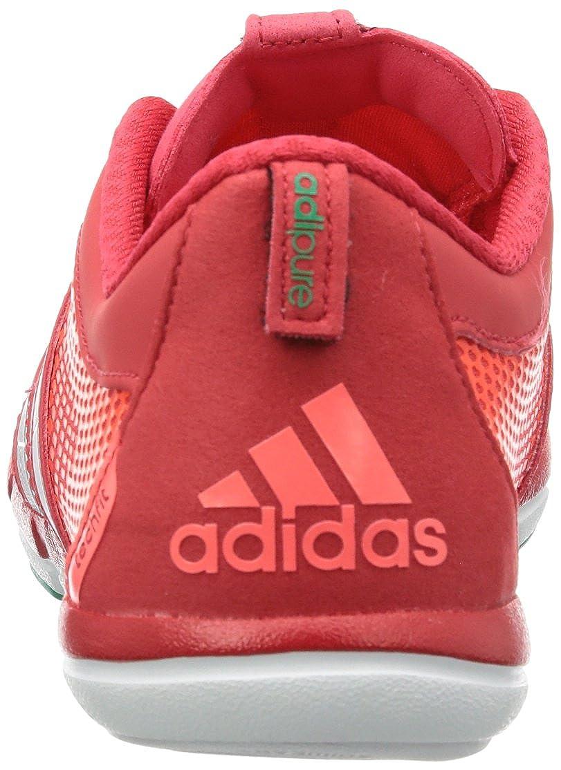 separation shoes df97d 3f158 adidas adipure Gazelle W G65182, Damen Laufschuhe, Rot (Joy S13Metallic  SilverRadiant Red F10), EU 42 (UK 8) Amazon.de Schuhe  Handtaschen