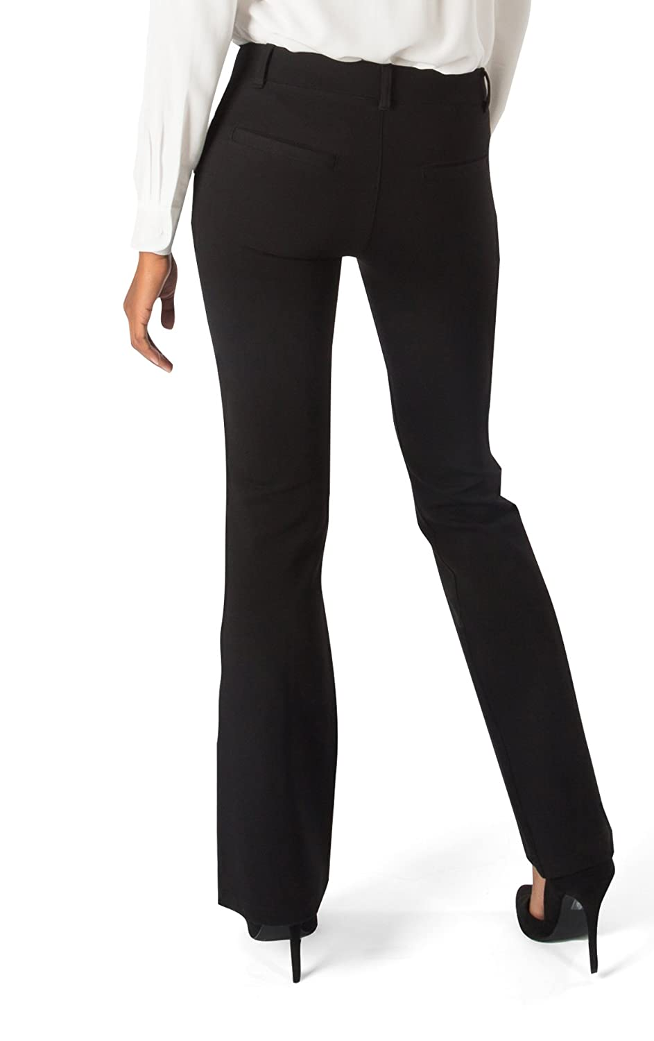 5c0f1799700bd Amazon.com: Betabrand Women's Dress Pant Yoga Pants (Boot-Cut): Clothing