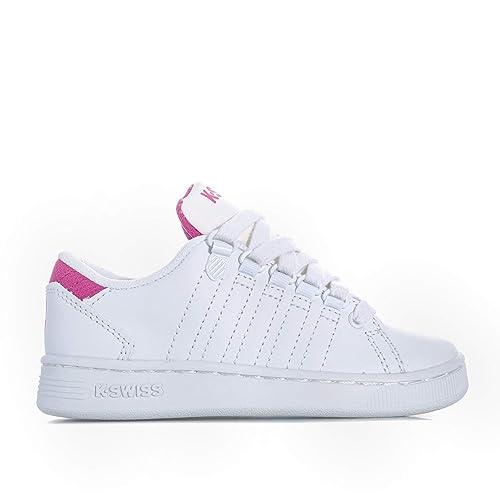 K-Swiss Lozan III Niña Zapatillas Blanco: Amazon.es: Zapatos y complementos