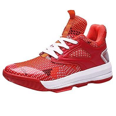 Justin - Zapatillas de Baloncesto para Hombre (Parte Superior Alta ...