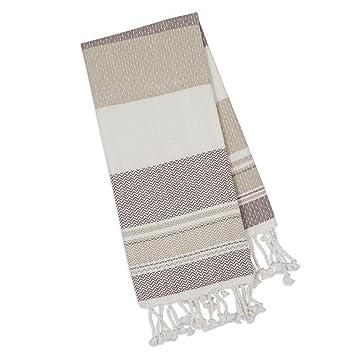 amazon com dii design imports natural texture fouta kitchen towel rh amazon com