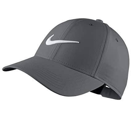 ee24e03fe0566 Nike Core Golf Cap 2018 Dark Gray Anthracite White Youth One Size Fits All