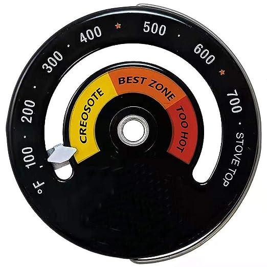 NO LOGO 1pc leña termómetro de Horno Metro de la Temperatura ...