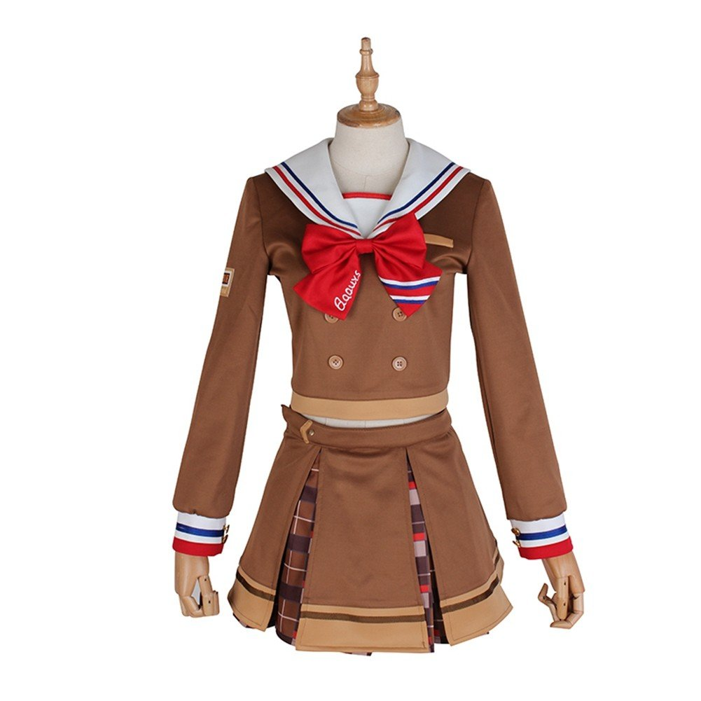 Love Live! Sunshine! Chika Takami Valentine's Day Chocolate Cosplay Costume