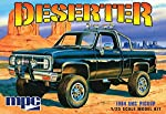 "1984 GMC Pickup""Deserter"" - Molded in White - Plastic Model Kit, Paint and glue required, from MPC"