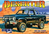1984-GMC-PickupDeserter--Molded-in-White--Plastic-Model-Kit-Paint-and-glue-required