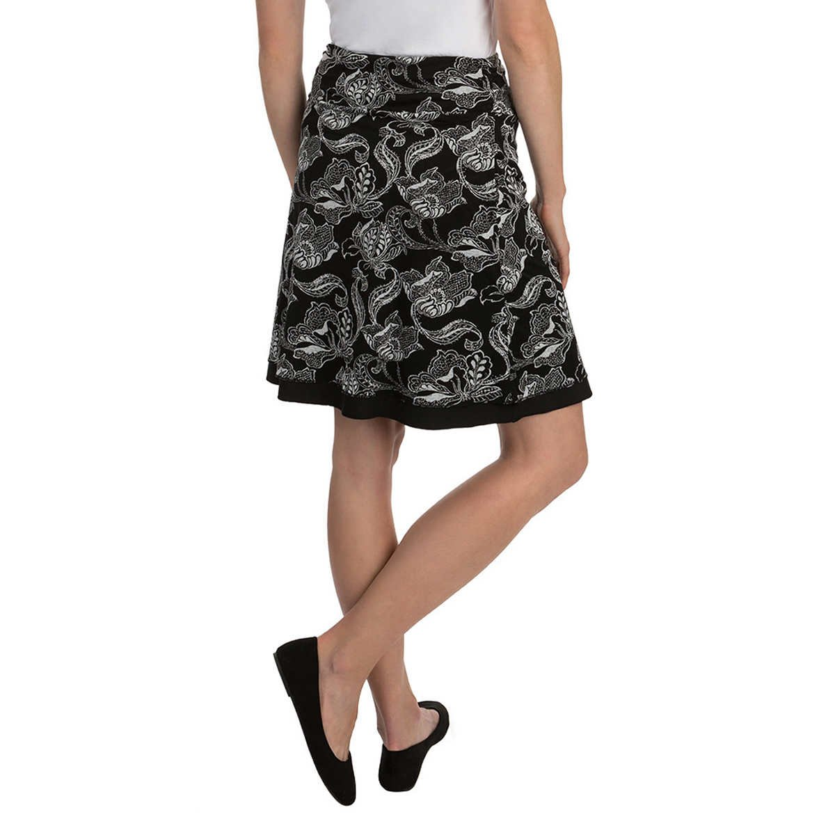 Colorado Clothing Tranquility Women's Reversible Skirt, Black Pattern, Large by Colorado Clothing (Image #3)