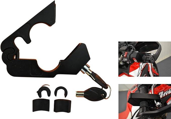 Moto Seguridad Grip Candado Pinza Manillar - Resistente para Moto ...