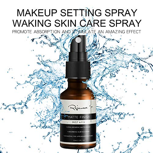 Makeup Setting Spray by Rejawece, Make Up Long lasting Matte Finishing Spray | Hydrating Face Mist, Beauty Products for Women, Water Mister, Toner for Dry Skin, Soothing Formula | Travel -