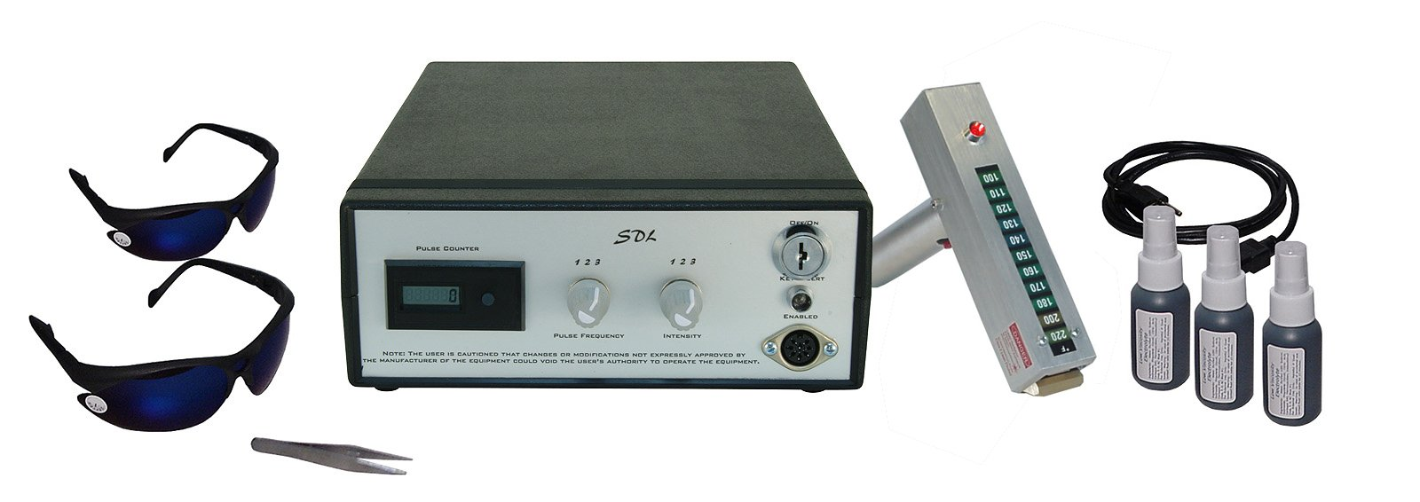 SDL-80aDX Laser Hair Removal Machine for bikini line, face and body, treatment of vascular lesions and spider veins.