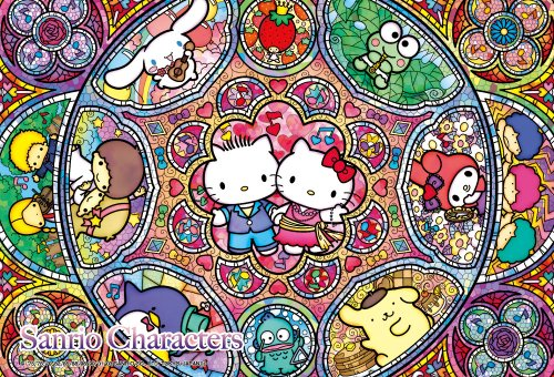 Sanrio Sanrio 108 Micro Piece Stained Glass Musical M108-160