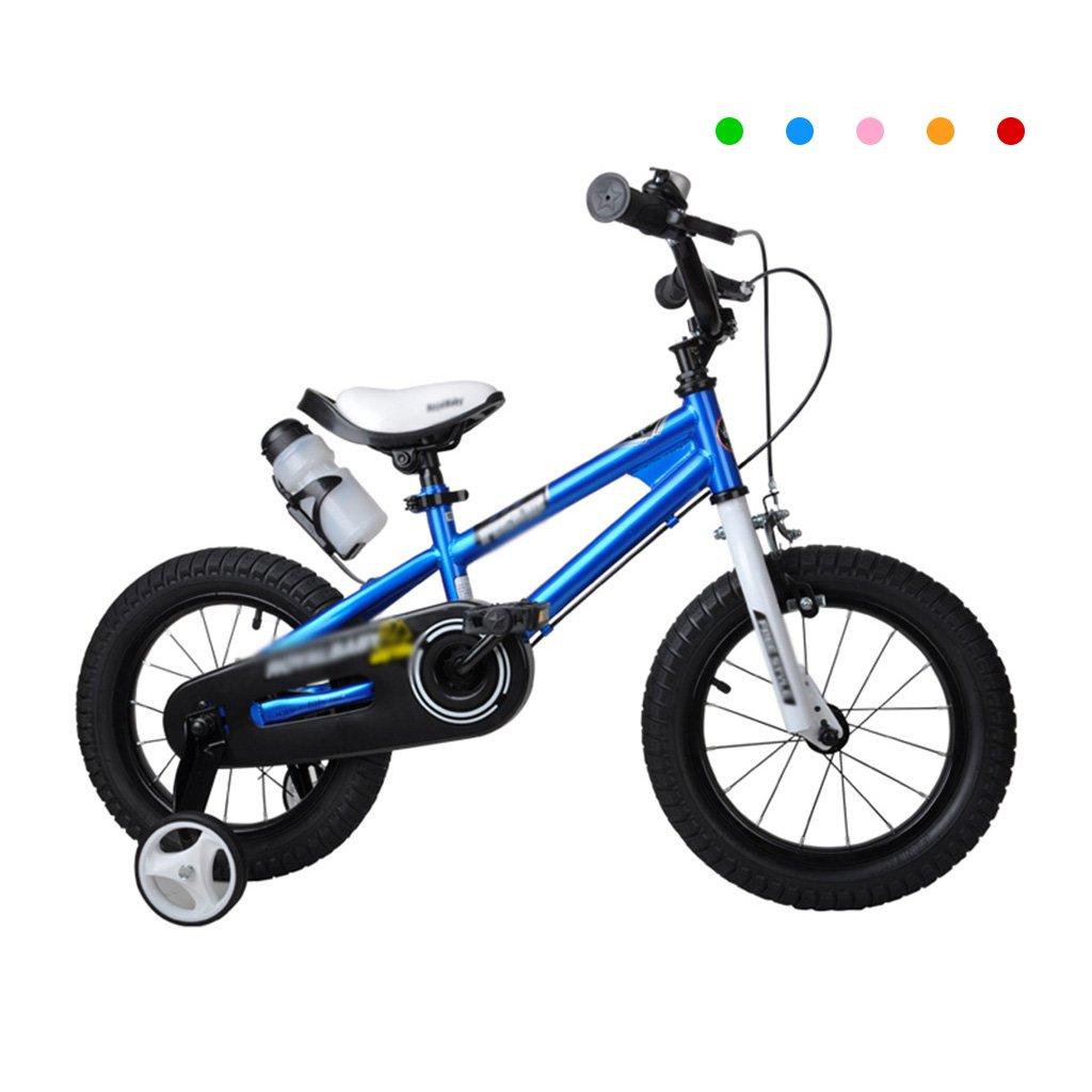 Gai Huaホーム子供用自転車子供の自転車2 – 4-6 – 7-8 – 9-10 Years Old Baby Bike 12 /14 /16インチ表示車手ブレーキ自転車 B07DQL4TRX 12 inches|ブルー ブルー 12 inches