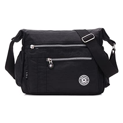 Image Unavailable. Image not available for. Color  Toniker Fashion Women Nylon  Shoulder Bag Waterproof Crossbody Purse Travel Messenger Bag d7f7e6b896f94