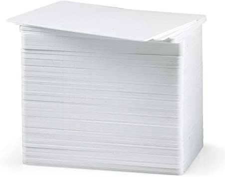 Credit Card Size 200 Blank White PVC Cards CR80 *** Free Shipping *** 30 Mil