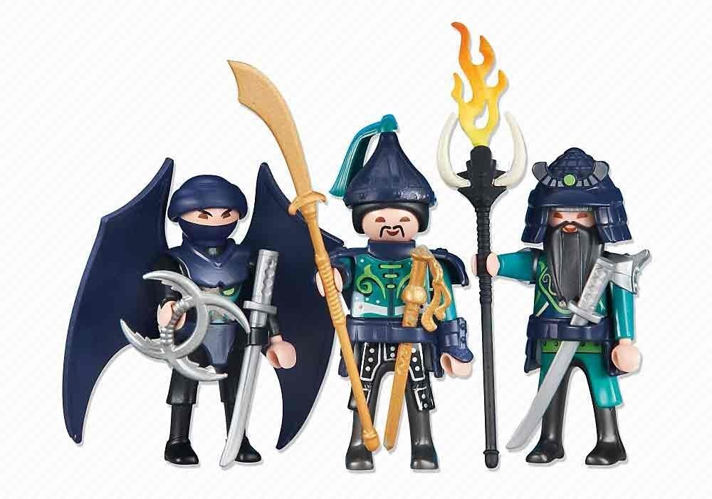 3 Green Samurai Knights: Amazon.es: Juguetes y juegos