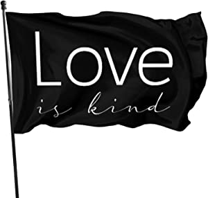 CHUN Love is Kind Christian Scripture Love is Patient The Flag 3x5 Feet Home Decoration, Garden Decoration, Outdoor Decoration